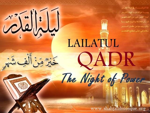 LAILATUL QADR 1439 AH