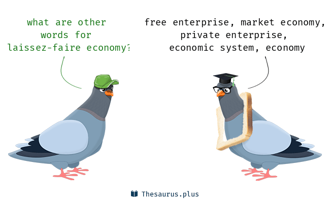 Synonyms for laissez-faire economy
