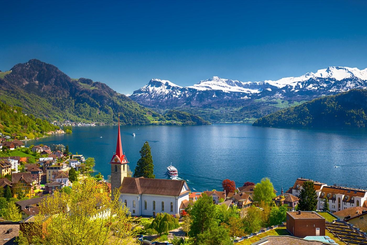 Diving Lake Lucerne