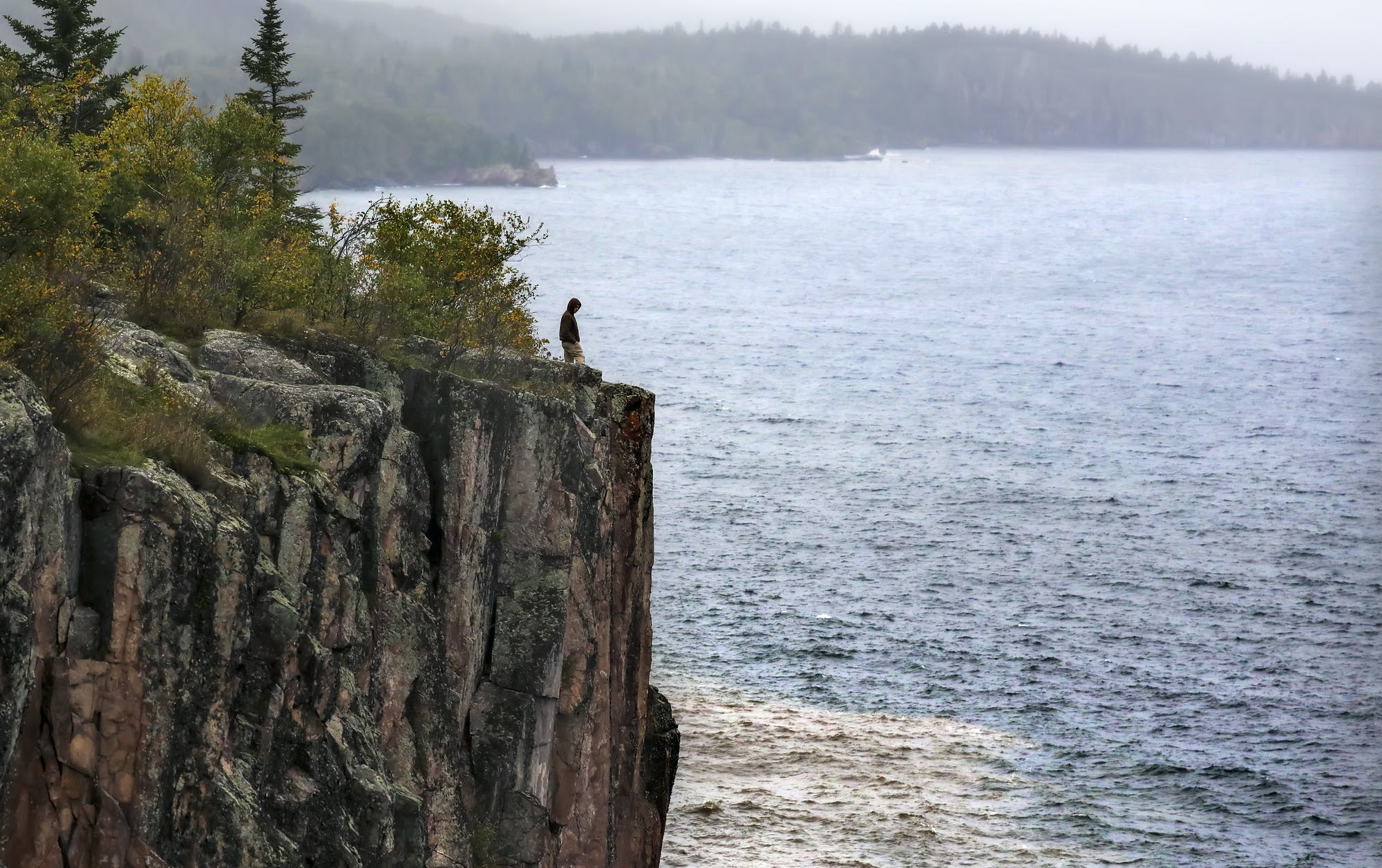 Lake Superior is near record high and threatening shoreline