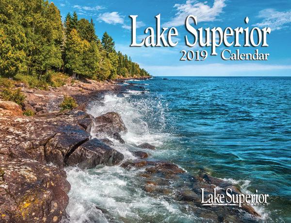 2019 Lake Superior Wall Calendar