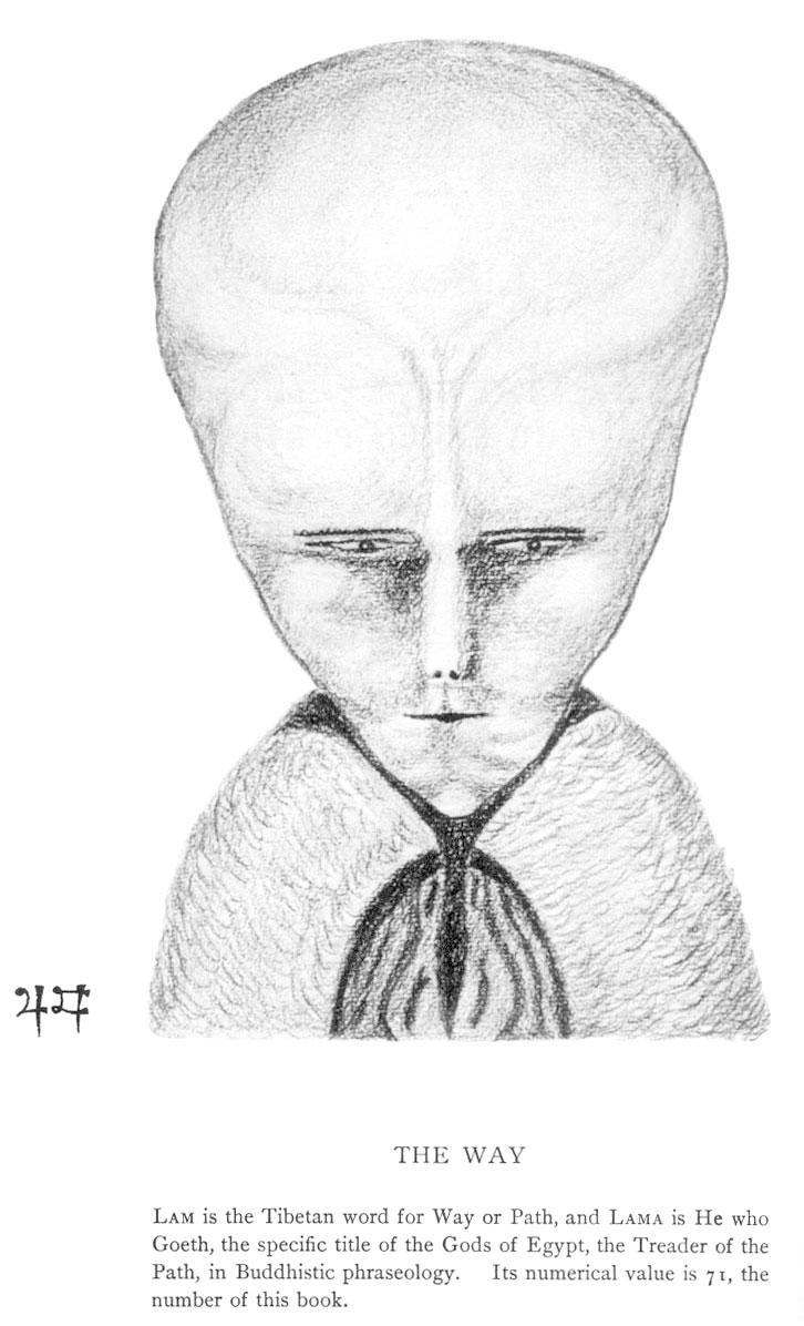 El Lam de Aleister Crowley y Los Hombrecitos Grises - Una Semejanza  Impresionante