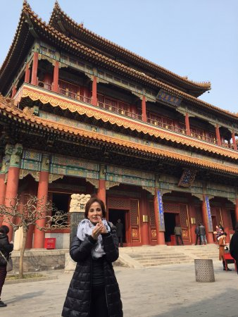 China Highlights: Yonghe Lamasery: the Lama Temple